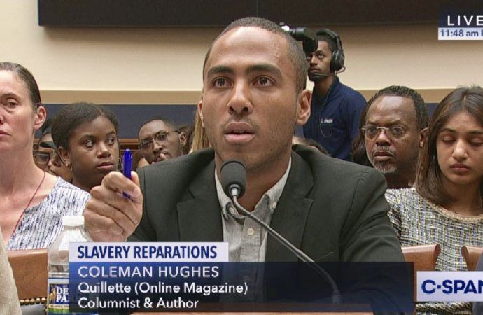 Young Democrat Booed for Opposing Slavery Reparations at House Hearing