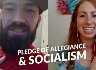 The Socialist History of the Pledge (Interview) ~ Sundays With Steffi