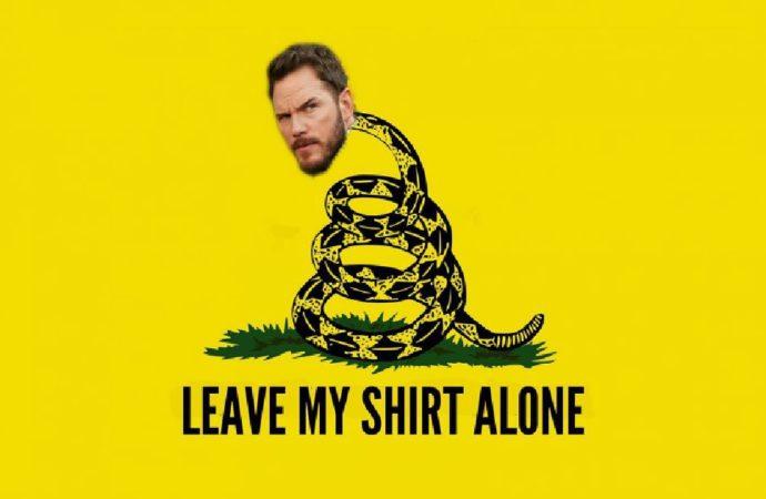 Don't Tread on Chris Pratt's Shirt: A History Lesson on The Gadsden Flag