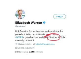 Elizabeth Warren Wants You to Know She's a Woman
