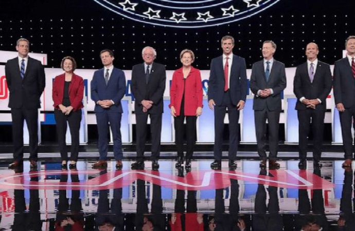 Democratic Debate Turns Into Circular Firing Squad, Signaling Trump's Victory