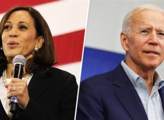 Biden Leads by Double-Digits, Harris Surpasses Sanders