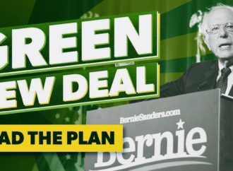 Bernie Sanders Says His $16-Trillion Green New Deal-Like Plan Will Create 20 Million Jobs