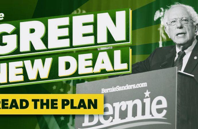 Bernie Sanders Says His $16-Trillion Green New Deal-Like Plan Will Create 20 Million Jobs
