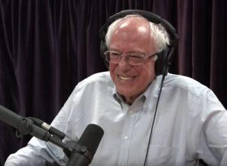 Bernie Sanders Campaigns on the Joe Rogan Experience