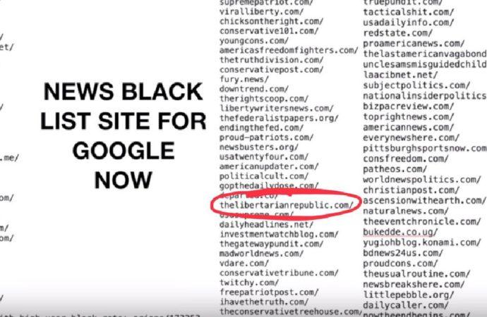 Google Blacklists Conservative Media: TLR, Glenn Beck, Crowder, More