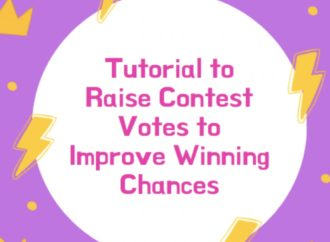 Tutorial to Raise Contest Votes to Improve Winning Chances