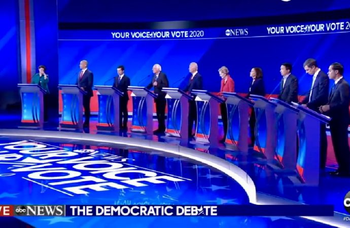 Democratic Debate Gets Personal As Candidates Go For The Jugular