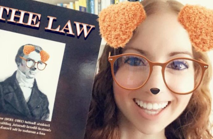 """Bastiat's """"The Law"""" [Book Review] ~ Sundays With Steffi"""