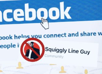Censorship: Facebook Tries to Straighten Out TLR's Squiggly Line Guy