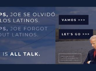 Trump Campaign Owns Web Address For Biden's Newly Announced Latino Outreach Campaign