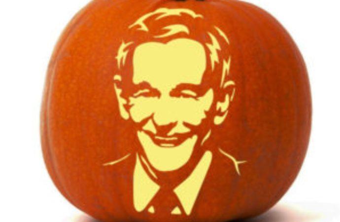 How To Carve a Ron Paul Pumpkin