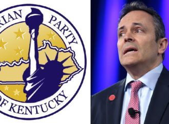"Kentucky Libertarian Party Drinks Matt Bevin Supporters' ""Delicious Tears."""