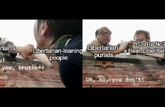 Libertarian Gatekeepers, It's Time to Stop the Purity Tests