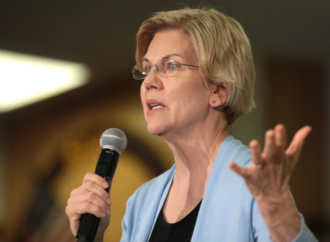 Elizabeth Warren Rally Derailed By Pro-Charter School Protesters