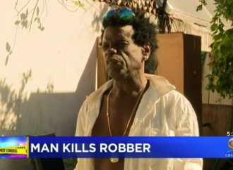 Homeless Florida Man Guns Down Robber In Self-Defense