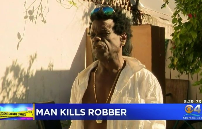 Homeless Florida Man Guns Down Robber In Self-Defense
