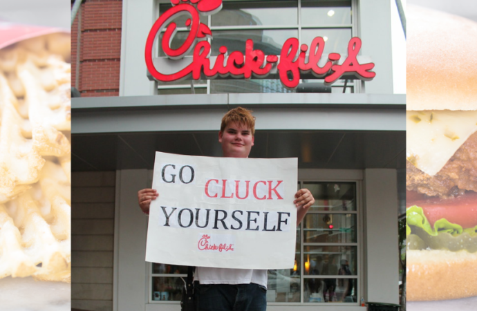 Triggered America: Conservative Christians Outraged Over Chick-fil-A 'Caving' to LGBT