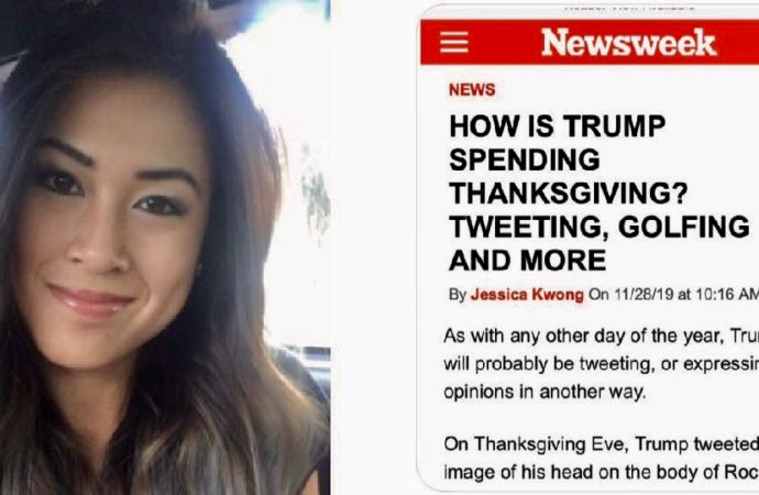 Newsweek Fires Reporter Who Wrote That Trump Would Be Tweeting And Golfing On Thanksgiving