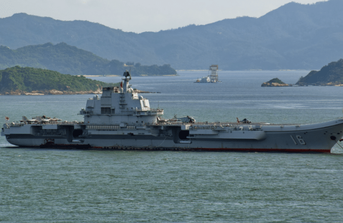 China Fires Shot Across Bow With New Aircraft Carrier