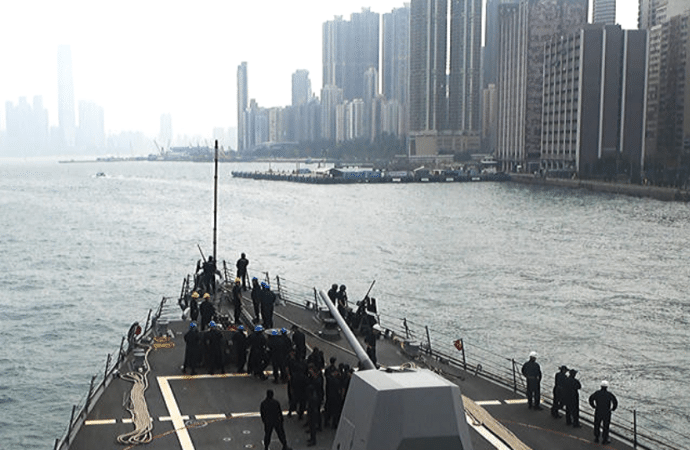 China Suspends US Navy Visits To Hong Kong Following Signing Of Pro-Democracy Legislation