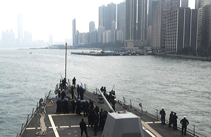 China Suspends US Navy Visits To Hong Kong Following Signing Of Pro-Democracy Legislation