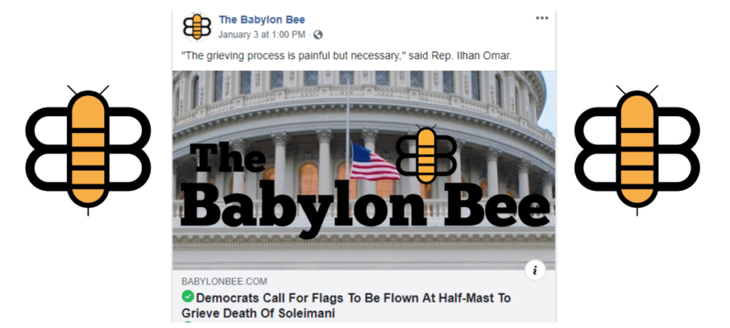 Fmr Cia Analyst Says The Babylon Bee S Satirical Take Is Duping People