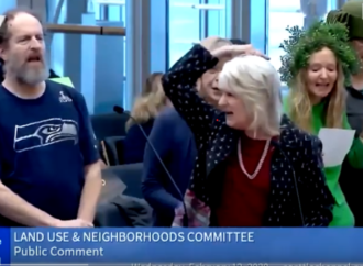 Tree Activists Turn Seattle City Council Meeting Into A Musical