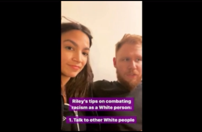 Ocasio-Cortez's White Boyfriend Explains How To Combat Racism As A White Person
