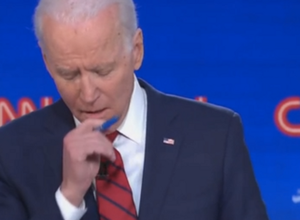 Biden Starts Coronavirus-Centered Debate With A Cough
